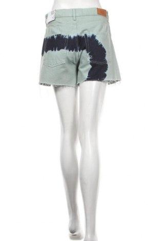Дамски къс панталон BDG, Размер S, Цвят Зелен, Памук, Цена 13,68лв.