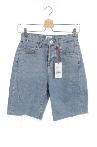 Дамски къс панталон BDG, Размер XS, Цвят Син, Памук, Цена 69,00лв.