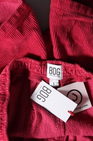 Дамски къс панталон BDG, Размер L, Цвят Розов, Памук, Цена 14,45лв.