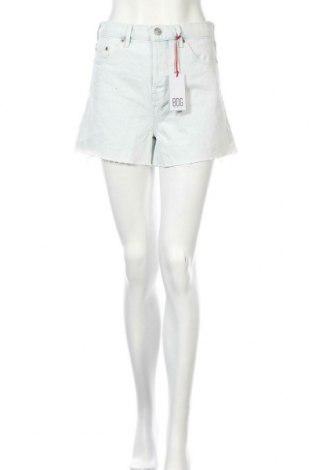 Дамски къс панталон BDG, Размер S, Цвят Син, Памук, Цена 51,75лв.