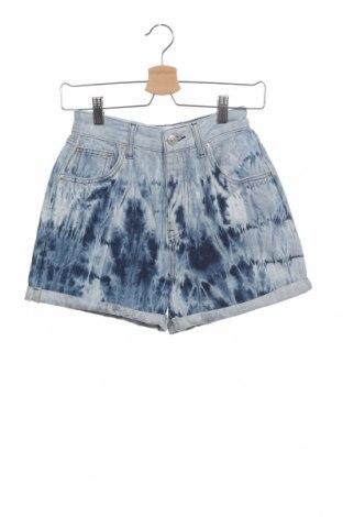Дамски къс панталон BDG, Размер XS, Цвят Син, Памук, Цена 51,75лв.