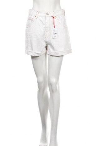Дамски къс панталон BDG, Размер M, Цвят Бял, Памук, Цена 51,75лв.