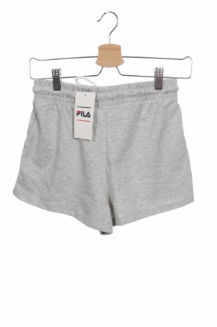 Pantaloni scurți de femei Fila, Mărime XS, Culoare Gri, 95% bumbac, 5% elastan, Preț 113,49 Lei