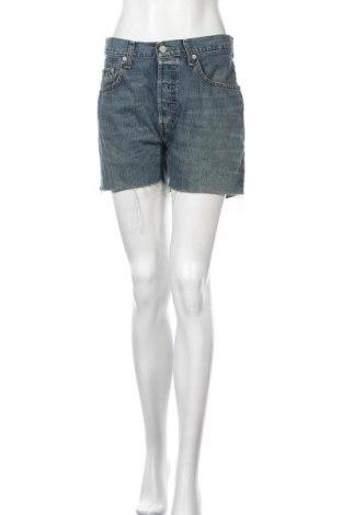 Γυναικείο κοντό παντελόνι Levi's, Μέγεθος M, Χρώμα Μπλέ, Τιμή 34,41€