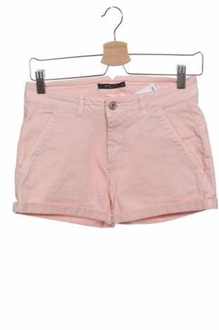 Дамски къс панталон Mohito, Размер XS, Цвят Розов, 97% памук, 3% еластан, Цена 18,90лв.