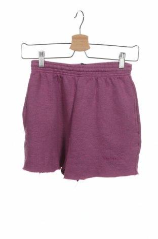 Дамски къс панталон Urban Outfitters, Размер XS, Цвят Розов, 70% памук, 30% полиестер, Цена 9,77лв.