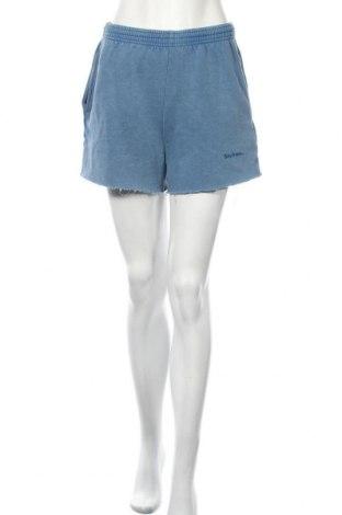 Дамски къс панталон Urban Outfitters, Размер S, Цвят Син, 70% памук, 30% полиестер, Цена 17,21лв.