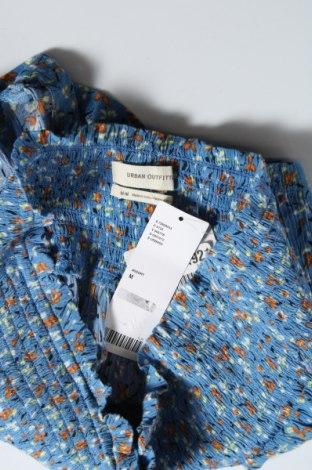 Дамски къс панталон Urban Outfitters, Размер M, Цвят Син, Вискоза, Цена 4,44лв.