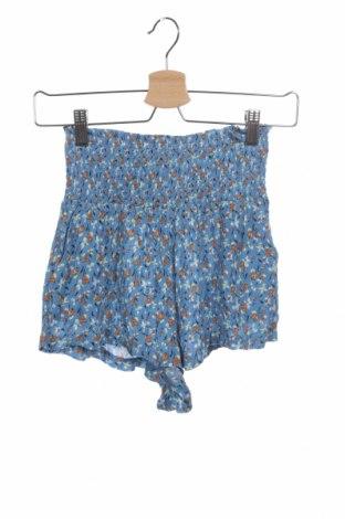 Дамски къс панталон Urban Outfitters, Размер XS, Цвят Син, Вискоза, Цена 8,24лв.