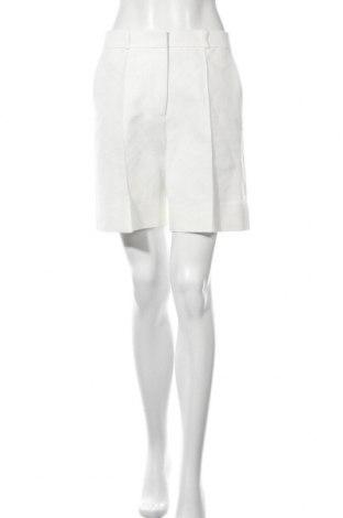Дамски къс панталон Victoria Beckham, Размер M, Цвят Бял, 63% памук, 37% полиамид, Цена 180,17лв.
