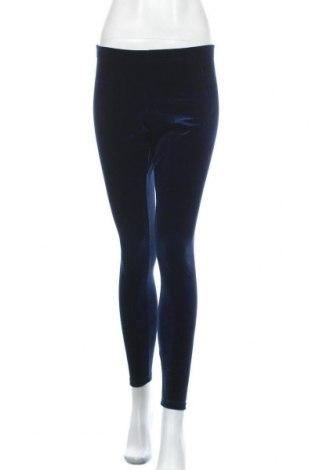 Dámské legíny , Velikost S, Barva Modrá, 95% polyester, 5% elastan, Cena  230,00Kč