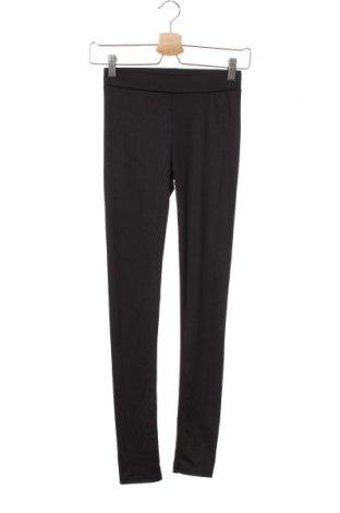 Γυναικείο κολάν H&M Divided, Μέγεθος XS, Χρώμα Μαύρο, 95% πολυεστέρας, 5% ελαστάνη, Τιμή 10,49€