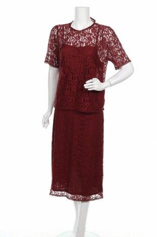 Set de femei H&M, Mărime XL, Culoare Roșu, Poliamidă, Preț 154,34 Lei
