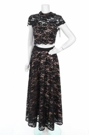 Γυναικείο σετ Sistaglam, Μέγεθος M, Χρώμα Μαύρο, Πολυεστέρας, Τιμή 34,41€