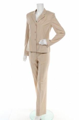 Costum de femei Strenesse Gabriele Strehle, Mărime S, Culoare Bej, Lână, Preț 193,42 Lei
