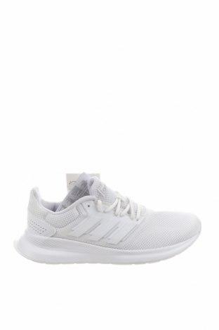 Дамски обувки Adidas, Размер 40, Цвят Бял, Текстил, еко кожа, Цена 123,37лв.