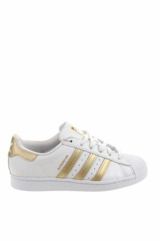 Дамски обувки Adidas Originals, Размер 39, Цвят Бял, Естествена кожа, еко кожа, Цена 123,37лв.