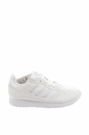 Дамски обувки Adidas Originals, Размер 36, Цвят Бял, Еко кожа, текстил, Цена 130,67лв.