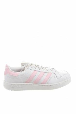 Дамски обувки Adidas Originals, Размер 39, Цвят Бял, Естествена кожа, Цена 62,37лв.
