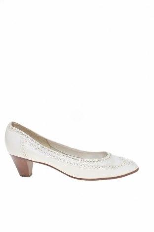 Дамски обувки Bally, Размер 38, Цвят Бял, Естествена кожа, Цена 98,04лв.
