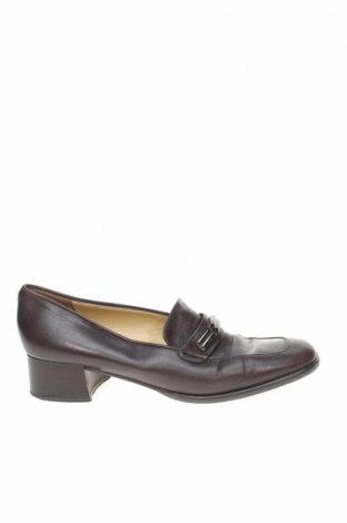 Дамски обувки Bally, Размер 40, Цвят Кафяв, Естествена кожа, Цена 124,00лв.