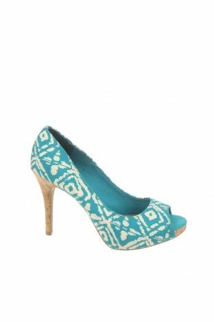 Дамски обувки Christian Siriano, Размер 39, Цвят Син, Текстил, Цена 62,37лв.