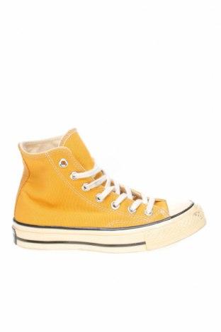 Γυναικεία παπούτσια Converse, Μέγεθος 35, Χρώμα Κίτρινο, Κλωστοϋφαντουργικά προϊόντα, Τιμή 20,41€