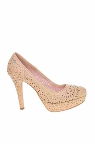 Дамски обувки Fornarina, Размер 39, Цвят Бежов, Еко кожа, Цена 35,10лв.