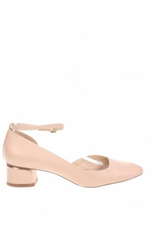 Дамски обувки Massimo Dutti, Размер 40, Цвят Розов, Естествена кожа, Цена 34,00лв.