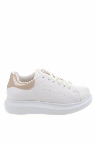 Дамски обувки NLY, Размер 39, Цвят Бял, Еко кожа, Цена 42,16лв.