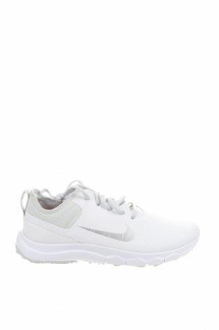 Γυναικεία παπούτσια Nike, Μέγεθος 38, Χρώμα Λευκό, Δερματίνη, Τιμή 73,07€