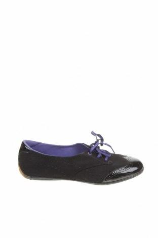 Дамски обувки PUMA, Размер 38, Цвят Черен, Естествен велур, естествена кожа, Цена 34,45лв.