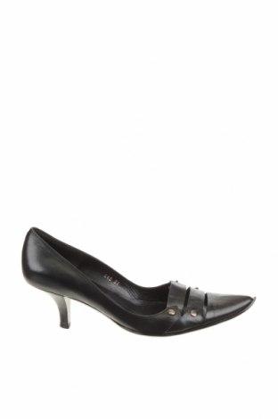 Γυναικεία παπούτσια Pura Lopez, Μέγεθος 37, Χρώμα Μαύρο, Γνήσιο δέρμα, Τιμή 30,43€