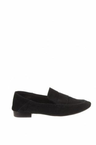 Дамски обувки Reserved, Размер 37, Цвят Черен, Естествен велур, Цена 36,30лв.