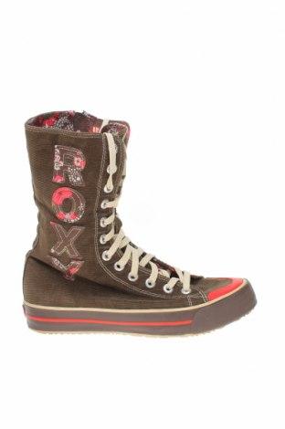 Дамски обувки Roxy, Размер 39, Цвят Кафяв, Текстил, Цена 30,80лв.