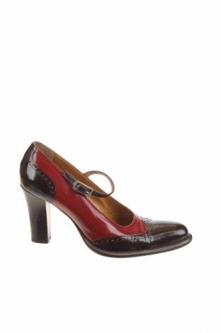 Дамски обувки Sergio Rossi, Размер 36, Цвят Червен, Естествена кожа, Цена 85,30лв.