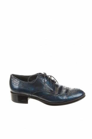 Дамски обувки Tod's, Размер 35, Цвят Син, Естествена кожа, Цена 124,00лв.
