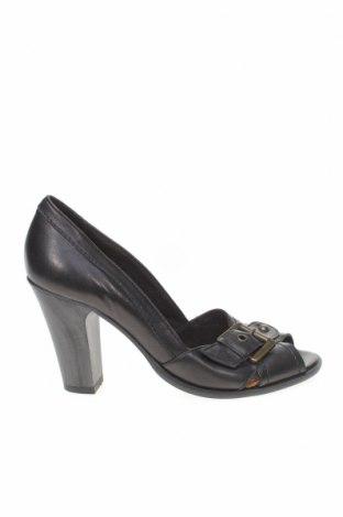 Дамски обувки Varese, Размер 38, Цвят Черен, Естествена кожа, Цена 55,20лв.