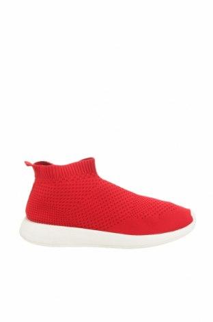 Γυναικεία παπούτσια Zara, Μέγεθος 40, Χρώμα Κόκκινο, Κλωστοϋφαντουργικά προϊόντα, Τιμή 17,81€