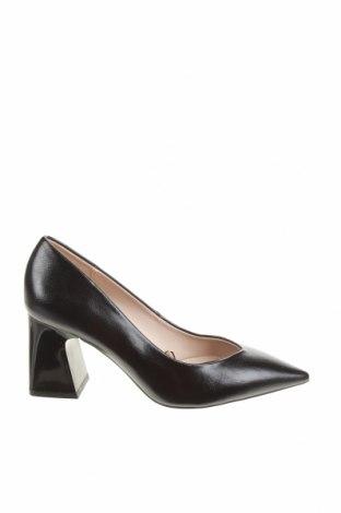 Дамски обувки Zara, Размер 35, Цвят Черен, Еко кожа, Цена 29,37лв.
