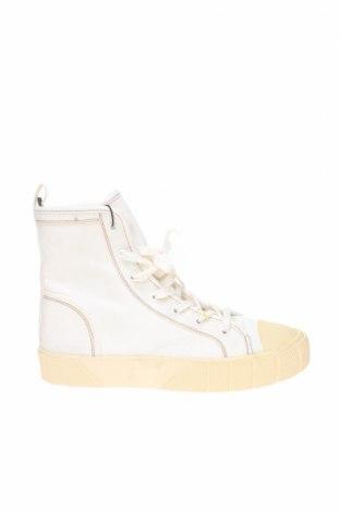 Дамски обувки Zara, Размер 39, Цвят Бял, Текстил, Цена 20,80лв.