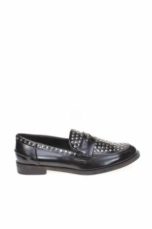 Дамски обувки Zara, Размер 36, Цвят Черен, Еко кожа, Цена 27,25лв.