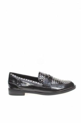 Дамски обувки Zara, Размер 40, Цвят Черен, Еко кожа, Цена 21,80лв.