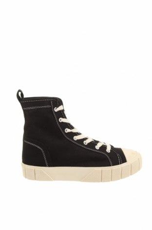 Дамски обувки Zara, Размер 38, Цвят Черен, Текстил, Цена 25,37лв.