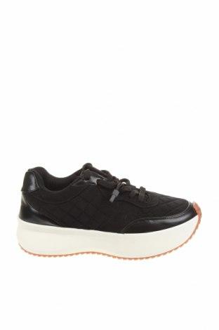 Încălțăminte de damă Zara, Mărime 37, Culoare Negru, Textil, piele ecologică, Preț 131,74 Lei