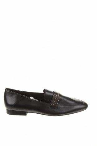 Дамски обувки Zara, Размер 36, Цвят Черен, Естествена кожа, Цена 25,07лв.