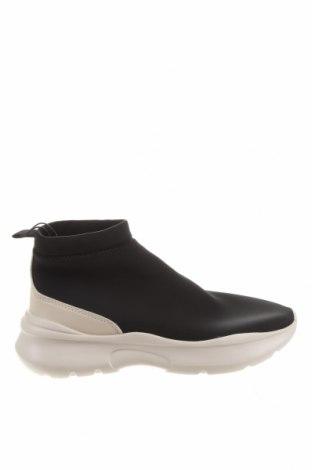 Дамски обувки Zara, Размер 38, Цвят Черен, Текстил, Цена 66,75лв.