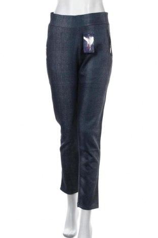 Дамски панталон, Размер XL, Цвят Син, 95% полиестер, 5% еластан, Цена 28,67лв.