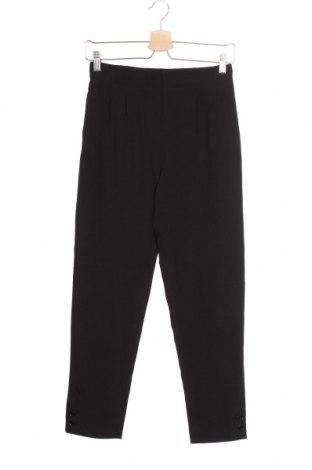 Дамски панталон, Размер XS, Цвят Черен, 87% полиестер, 13% еластан, Цена 9,18лв.