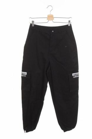 Pantaloni sport de femei Adidas Originals, Mărime XS, Culoare Negru, Bumbac, Preț 318,26 Lei